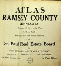 Atlas Ramsey County, Minnesota, exclusive of city of St. Paul, April, 1931