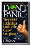 image of DON'T PANIC: The Official Hitchhikers Guide to the Galaxy Companion.