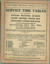 Service Time Tables for the Use of Station Masters, Guards, Engine Drivers, Motor Men, Signalmen...