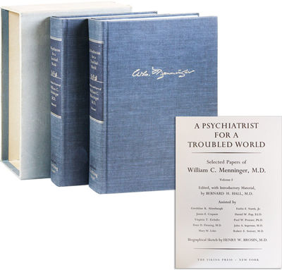 New York: Viking Press, 1967. First Edition. Two large octavo volumes in slipcase. Inscribed on fron...