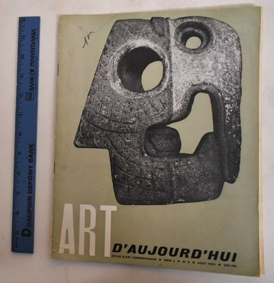 Paris: Art d'Aujourd'hui, 1952. Softcover. G-, covers some wear along edges, front cover has marking...