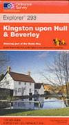 image of Kingston-upon-Hull and Beverley (Explorer Maps)
