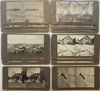[Fourteen Vernacular Stereoviews of Nome, Alaska]