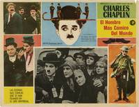image of A Collection of 10 Mexican Lobby Cards featuring Charlie Chaplin (Original Mexican lobby cards)