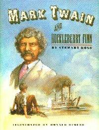 image of Mark Twain and Huckleberry Finn