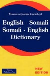 English - Somali; Somali - English Dictionary