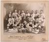 [Original Team Portrait Photograph of an African-American Baseball Team]: Grace Presbyterian Base Ball Team Champions Presbyterian Brotherhood League Season 1911