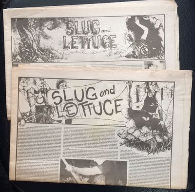 Richmond, VA: the zine, 2005. Two issues of the tabloid newspaper