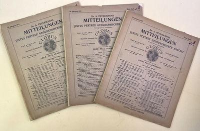 1912. Continental Drift Wegener, Alfred (1880-1930). Die Entstehung der Kontinente. In: Dr. A. Peter...