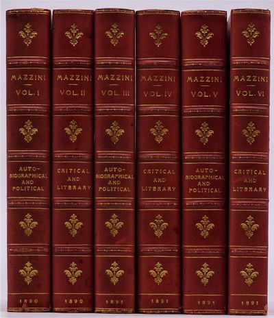 London: Smith, Elder and Co., 1890. Published 1890-91. Six volume bound in contemporary red polished...
