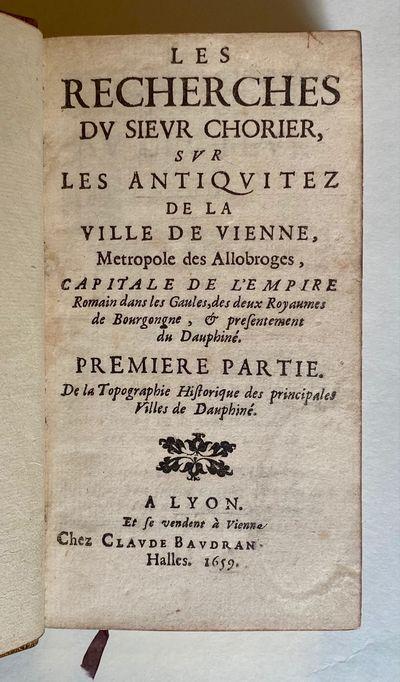 Les Recherches...Svr Les Antiqvitez...