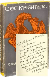 Cockfighter (First Hardcover Edition, inscribed in 1973)