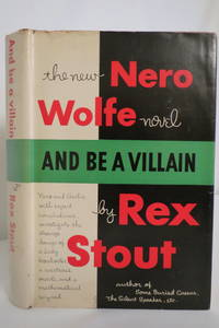image of AND BE A VILLAIN (NERO WOLFE NOVEL)