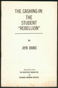 """THE CASHING-IN: The Student """"Rebellion"""""""