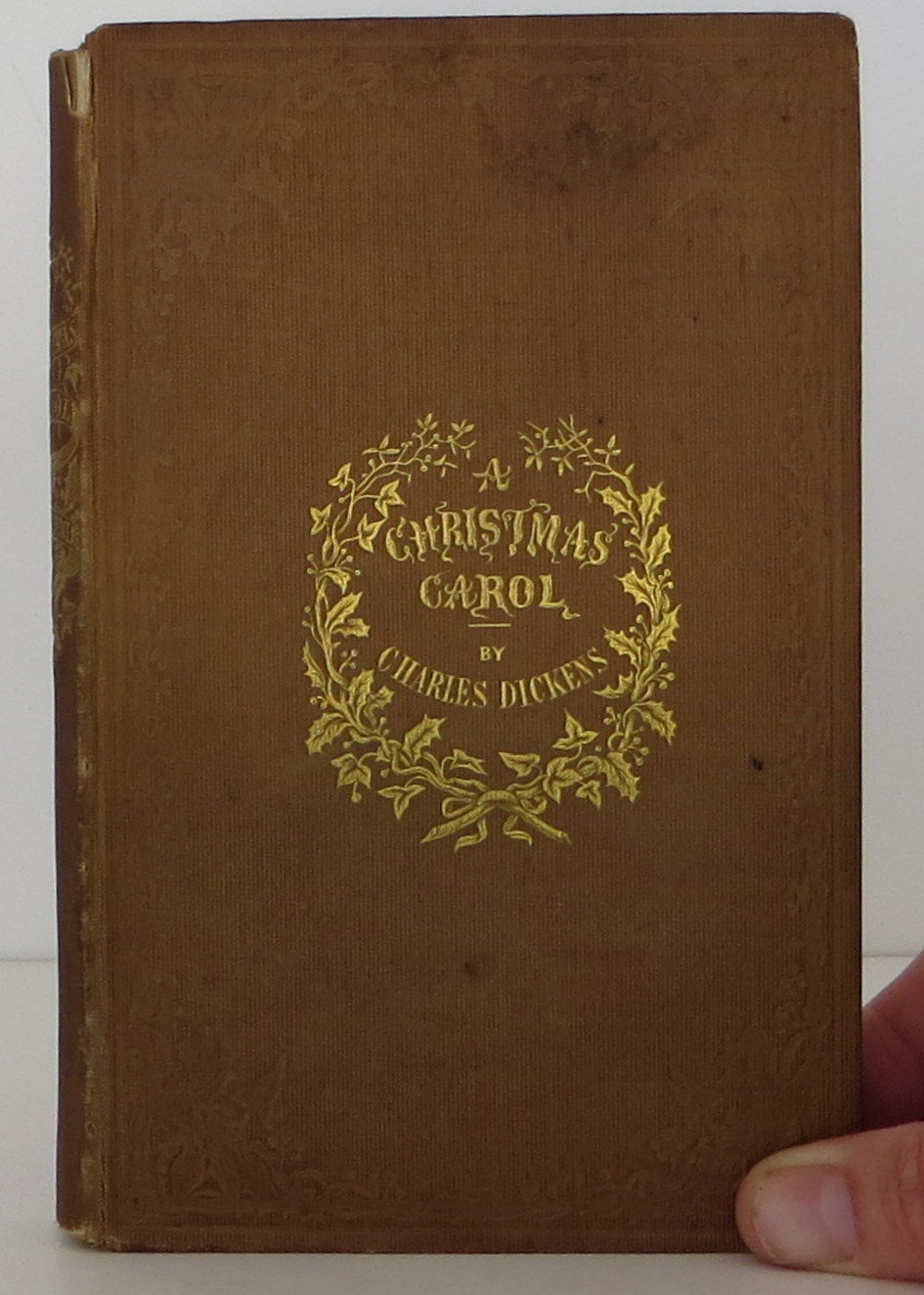 The Christmas Carol by Charles Dickens - 1st Edition - 1843 - from Bookbid Rare Books and Biblio ...