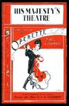 image of Operette: Souvenir Theatre Programme Performed at His Majesty's Theatre, Haymarket, London