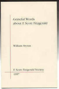 Hempstead: F. Scott Fitzgerald Society, 1997. First edition. Limited to 276 copies, 250 of which wer...
