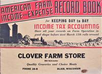 image of American Farm Income and Expense Record Book. for Keeping Day to Day Income Tax Accounting