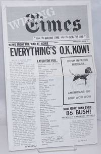 image of Wrong Times: news from the war at home. No. 2 (March 1991)