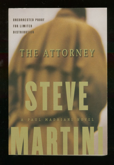 New York: Putnam, 1999. Softcover. Fine. First edition, Uncorrected proof with publisher's letter la...