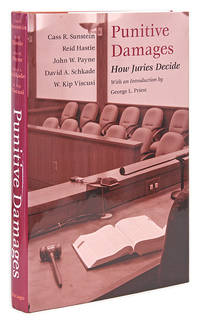 Punitive Damages: How Juries Decide. Chicago, 2002