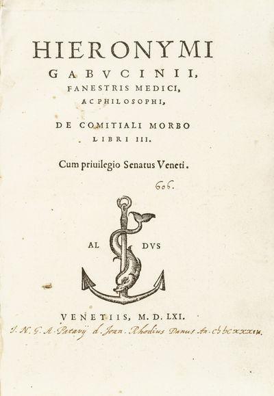 Hieronymi Gabucinii, Fanestris...