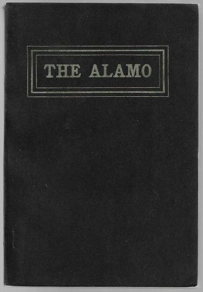 San Antonio, TX, 1902. Softcover. Very Good. 131 pp, with frontispiece, illustrations, in original w...