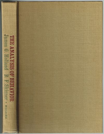 New York: McGraw-Hill Book Company, 1961. SCARCE in the hardcover First Edition. Near Fine, no jacke...
