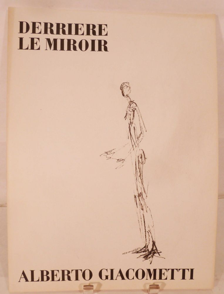 Derriere le miroir no 98 june 1957 by alberto paris for Derriere le miroir giacometti