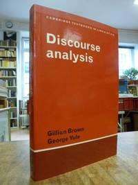 Discourse analysis,
