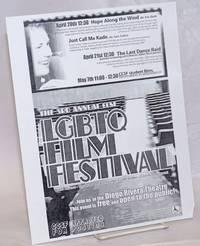 image of The 3rd Annual CCSF LGBTQ Film Festival [handbill] Join us in the Diego Rivera Theatre