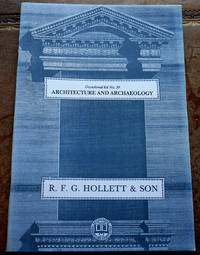 image of R F G HOLLETT & SON Occasional List 59 Architecture And Archaeology