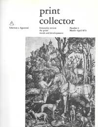 Print Collector ( Bimonthly Review The Print: Trends And Developments ) Number1 March-April 1973