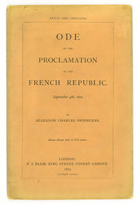 Ode on the Proclamation of the French Republic