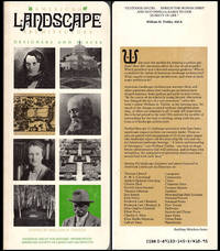 American Landscape Architecture: Designers and Places (Building Watchers Series)