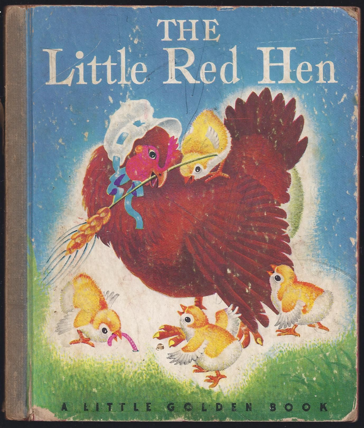 The Little Red Hen (Little Golden Book) By Anonymous