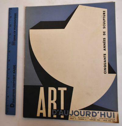 Paris: Art d'Aujourd'hui, 1951. Softcover. VG-, slight wear along edges, slightly soiled/rubbing on ...