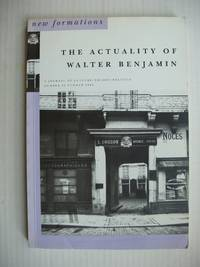 image of The Actuality of Walter Benjamin