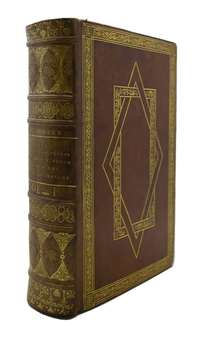 A Magnificent Set of Shakespeare Bound by Taylor & Hessey SHAKSPEARE, William. The Plays of William ...