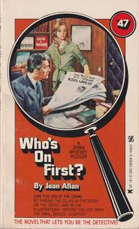 Who's on First? (Series: Zebra Mystery Puzzler 47.)