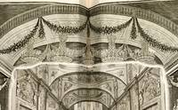 12 Engravings of Sets from the  Amsterdam Schouwburg the most famous of all Schouwburg illustrations,