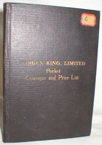 Warden King, Limited, Pocket Catalogue and Price List