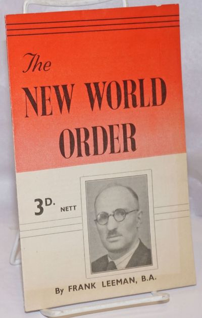 Nottingham: Nottingham Co-operative Society, 1945. 16p., including covers, stapled wraps, 5.5 x 8.5 ...