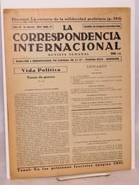 image of La Correspondencia internacional; revista semanal, año VI, num.15, 16 marzo 1934