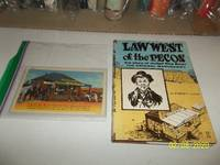 image of Law West Of The Pecos: The Story of Judge Roy Bean (1967, Naylor Company. Reprint W/Dj)