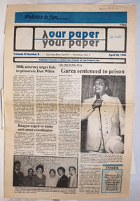 image of Our Paper, Your Paper; the gay family paper of the Santa Clara Valley; vol. 2, #8, April 20, 1983