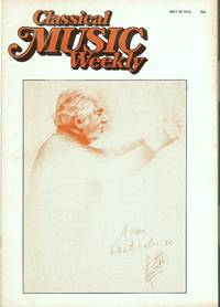 image of Classical Music Weekly May 20 1978