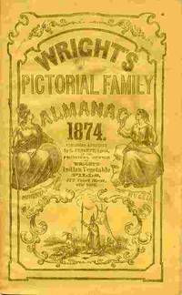 Wright's Pictorial Family Almanac, 1874