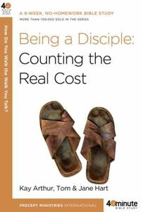 Being a Disciple by Tom Hart; Kay Arthur; Jane Hart - Paperback - 2009 - from ThriftBooks and Biblio.com
