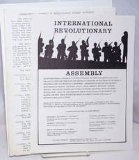 image of [Two leaflets promoting the International Assembly of Revolutionary Student Movements]
